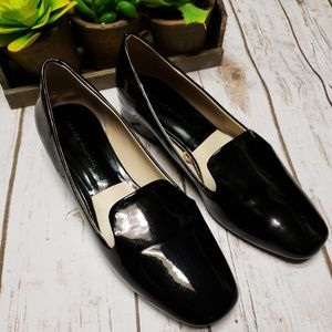 🎉Zara Collection Patent Leather Black Loafers🎉